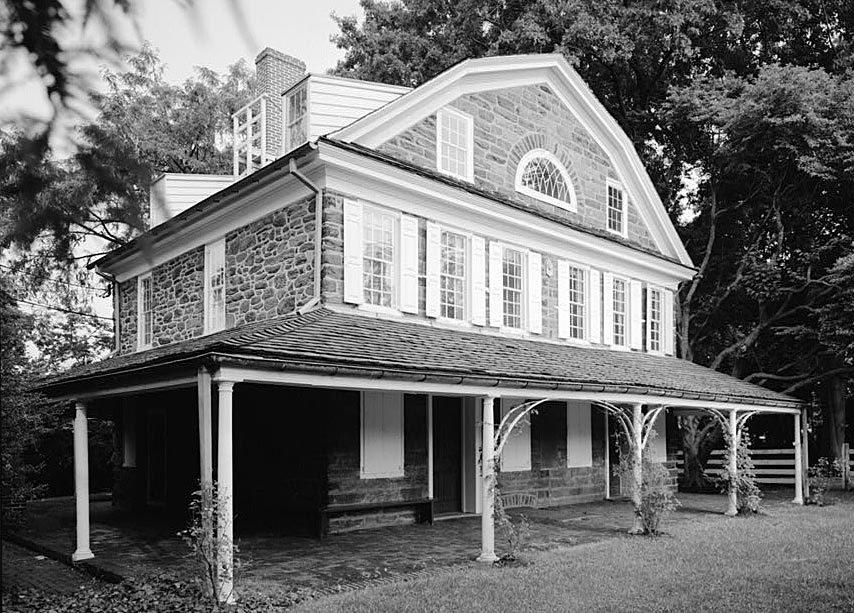 Cedar Grove Farmhouse 1750 Historic Details