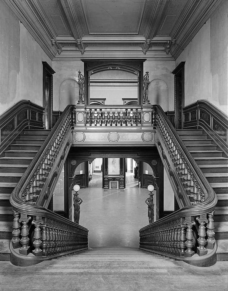 Stairs And Balusters Historic Details
